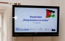 Round table on doing business in Jordan