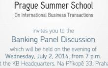 Banking Panel Discussion